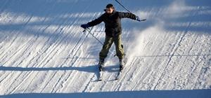 Ilgaz'da kayak sezonu devam ediyor