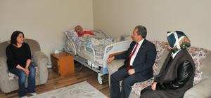 Başkan Akkaya'dan şehit ailelerine ziyaret