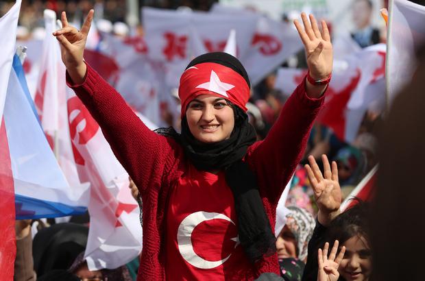 AK Parti'nin Erzincan mitingi