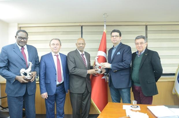 Sudan heyetinden DTO'ya ziyaret