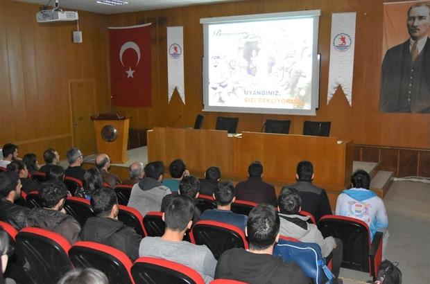 OMÜ'de Çanakkale Şehitlerini anla töreni