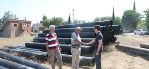 Büyükşehir Belediyesi'nin tarıma desteği sürüyor