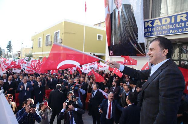 AB Bakanı ve Başmüzakereci Çelik: (1)