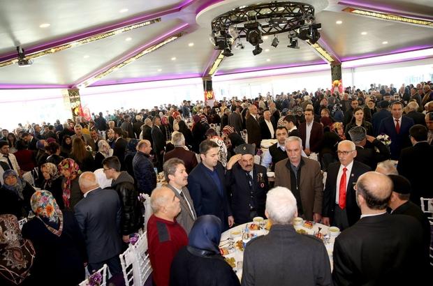 Tokat'ta şehit aileleri ve gaziler onuruna yemek verildi