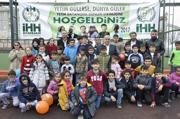 Diyarbakır'da yetimler için etkinlik