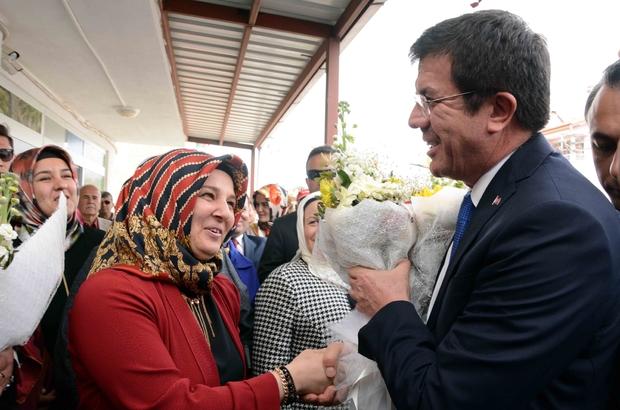 Ekonomi Bakanı Zeybekci Muğla'da: (1)