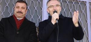 """Maliye Bakanı Ağbal """"çocuk köy odası"""" açtı"""