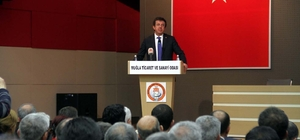 Ekonomi Bakanı Zeybekci Muğla'da: