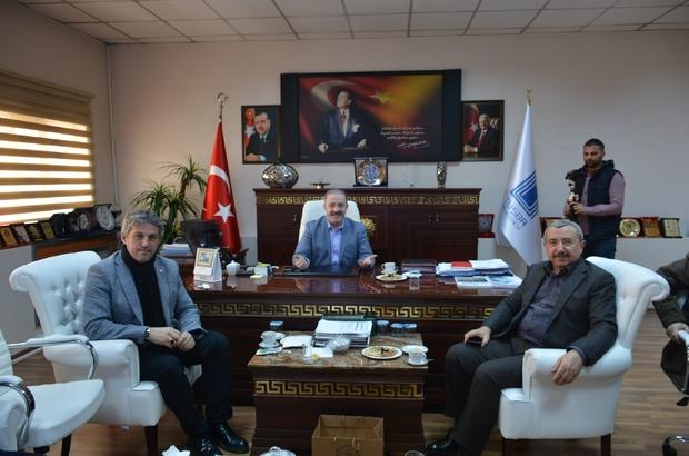 Sancaktepe heyetinden Tuşba Belediyesine ziyaret