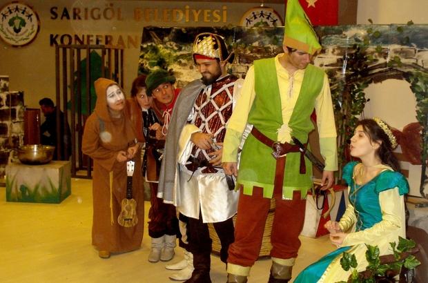 Sarıgöllü çocuklar 'Robin Hood' ile gülme krizine girdi
