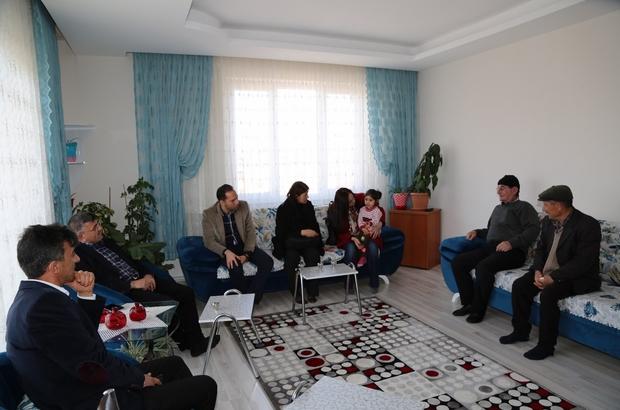 Başkan Akdoğan'dan şehit ailelerine ziyaret