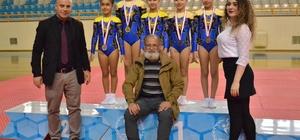 Okullararası Aerobik Cimnastik İl Birinciliği tamamlandı