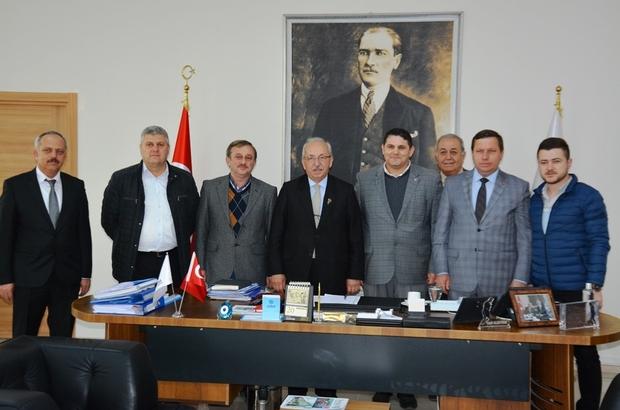 Çorlu Ziraat Odası'ndan Başkan Albayrak'a ziyaret