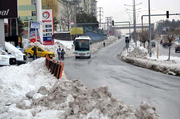 Doğuda kar yağışı