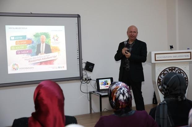 Kocasinan Belediyesi sigarasız bir toplum için seminer düzenledi