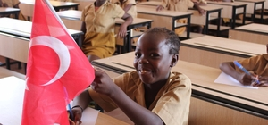 TİKA'dan Kamerun'daki okula donanım desteği
