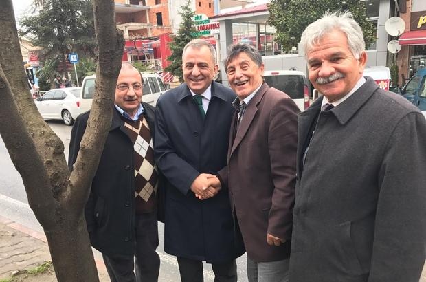 Başkan Sağıroğlu, referandum çalışmalarına devam ediyor