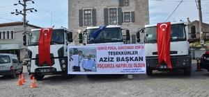 Foça Belediyesi araç filosunu genişletti