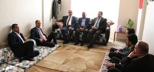 Başkan Demirkol şehit ailelerini ziyaret etti