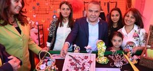 Konyaaltı'nda Kadın El Emeği Pazarı açıldı