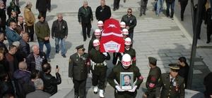 Kıbrıs Gazisi Solak defnedildi
