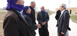 Başkan Demirkol, Eğerkıran ve Üçgöze'de incelemelerde bulundu