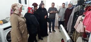 Muhtar eşleri Süleymanpaşa Belediyesi'nin çalışmalarını inceledi
