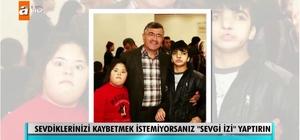 """Müge Anlı'dan Başkan Akdoğan'a """"Sevgi İzi"""" teşekkürü"""