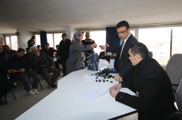 Beyşehir Belediyesinde çalışacak işçiler kurayla belirlendi