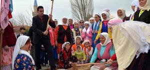 Muğla'nın geleneksel köy düğünü canlandırıldı