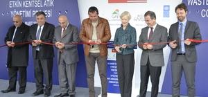 Gaziantep'te katı atık transfer istasyonu açıldı