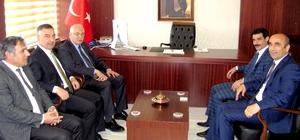 Milletvekili Erdoğan'dan Kaymakam Bağlı'ya hayırlı olsun ziyareti