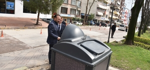 İzmit'te çöp konteynerleri estetik hale getirilecek