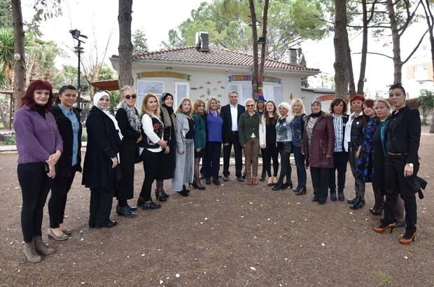 Başkan Uysal, Türk Kadınları Konseyi üyeleriyle buluştu