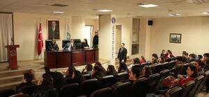 Başkan Yemenici'ye öğrencilerden ziyaret