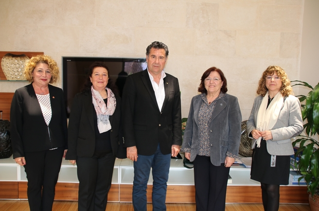 ÇYDD Bodrum Şubesi, Başkan Kocadon'u ziyaret etti