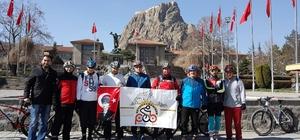 Afyon PAB üyeleri Çanakkale Zaferi için pedal çevirdi