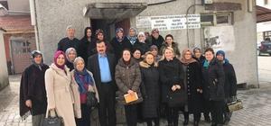 AK Parti Eskişehir İl Kadın Kolları referandum çalışmalarını sürdürüyor