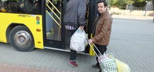 Ayvalıklılar Burhaniye pazarına geliyor