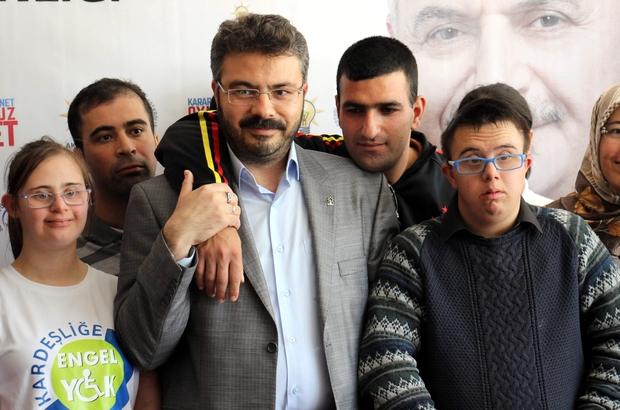 Aydın AK Parti Down Sendromlu çocuklarla buluştu