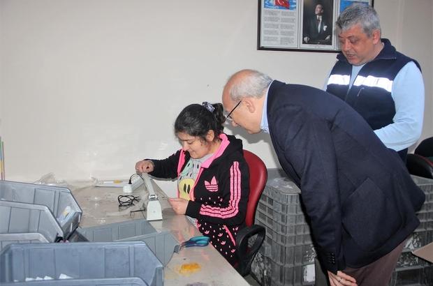 CHP'li Çakırözer engelli çalışanlarla bir araya geldi