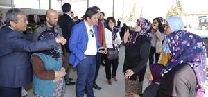 Başkan Genç, Milletvekili Kök ile birlikte referandum çalışmasına katıldı