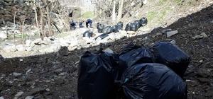Uludere belediyesi temizlik çalışması başlattı
