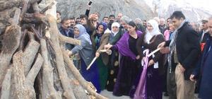 Hakkari'de Nevruz coşkusu