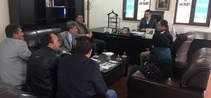 AK Parti Bağlar İlçe Başkanı Gezer mahalle temsilcileriyle buluştu