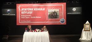 Yazar Hıfzı Topuz, Atatürk'ü anlattı