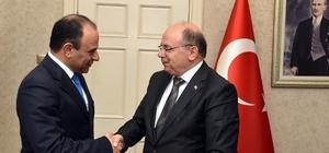 İsrail'in İstanbul Başkonsolosu Cohen, Vali Çiçek'i ziyaret etti