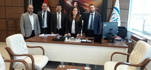 Aydın TÜMSİAD'dan SGK İl Müdürlüğüne ziyaret