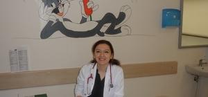 Besni'de çocuk hastalıkları uzmanı göreve başladı