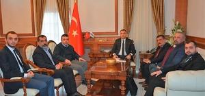 Malatya Valisi Mustafa Toprak'a ziyaret
